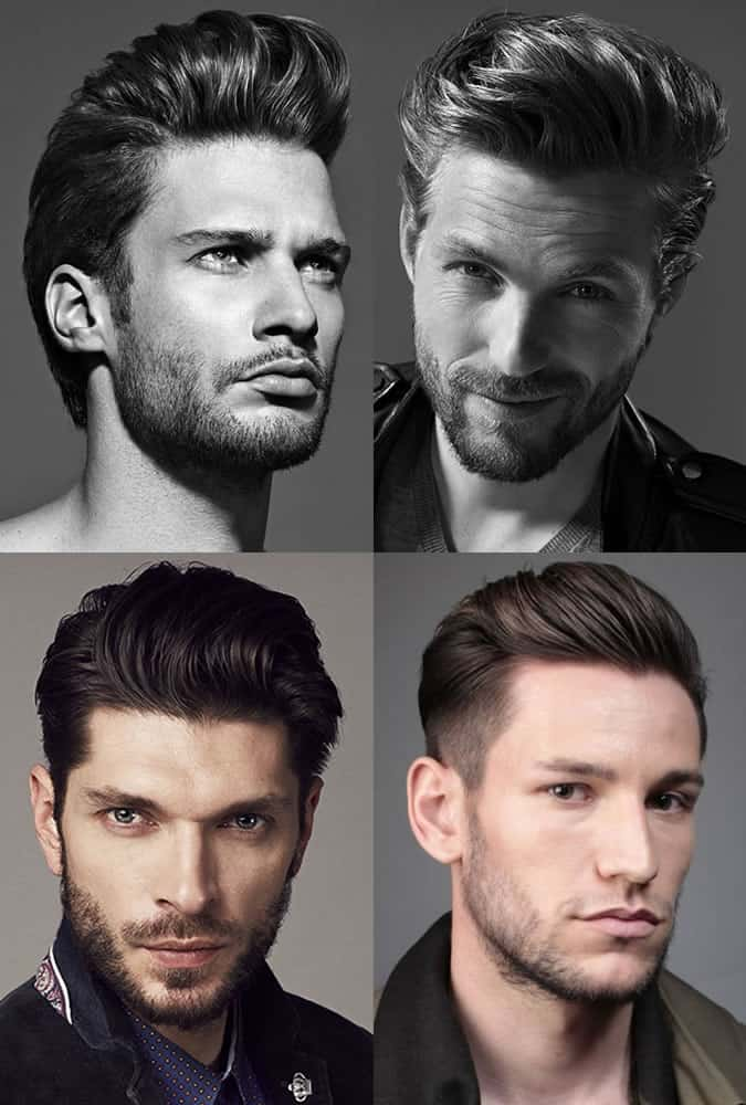 Men's Pompadour Hairstyles