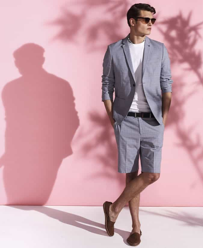 Men's Shorts Suit Outfit Inspiration