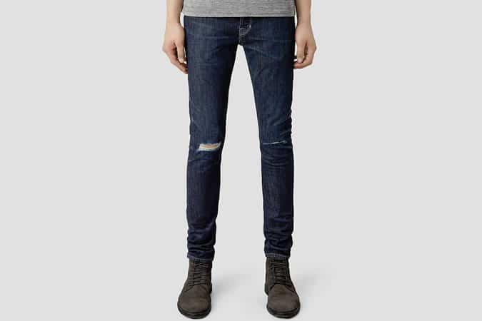 All Saints Keiko Cigarette Jeans