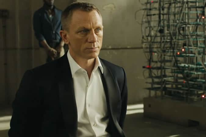 Daniel Craig as James Bond In Skyfall - Tom Ford Dinner Jacket