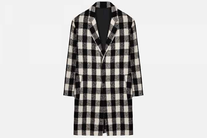 Ami two-button oversize coat