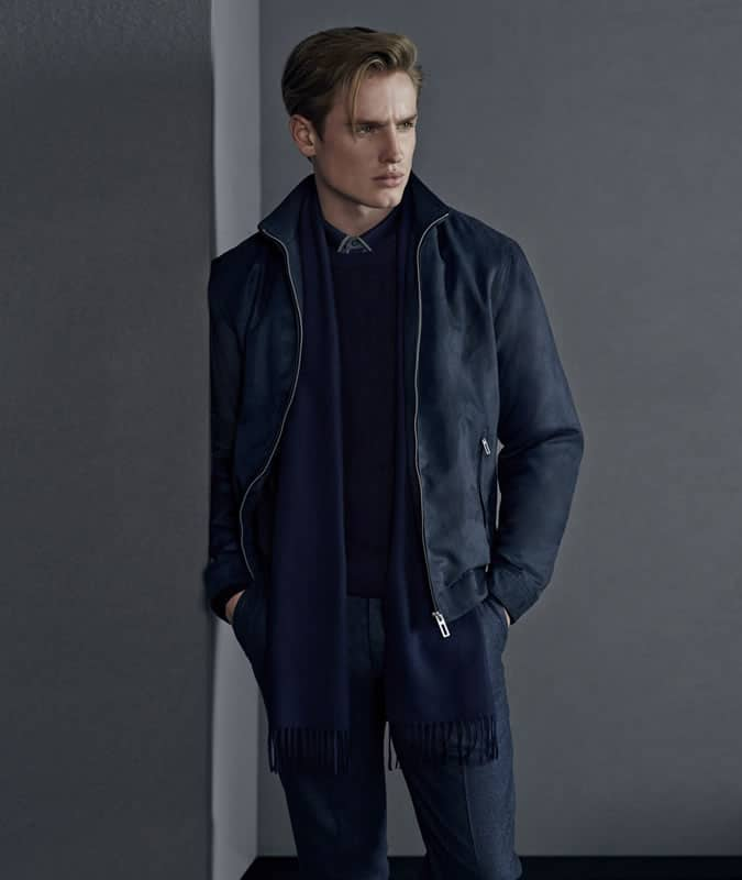 Men's Cashmere Scarf Outfit Inspiration