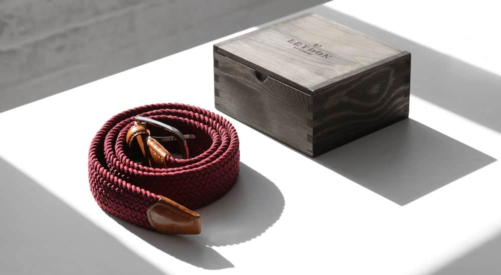 Brydon Brothers Kingsland Men's Belts Gift Box