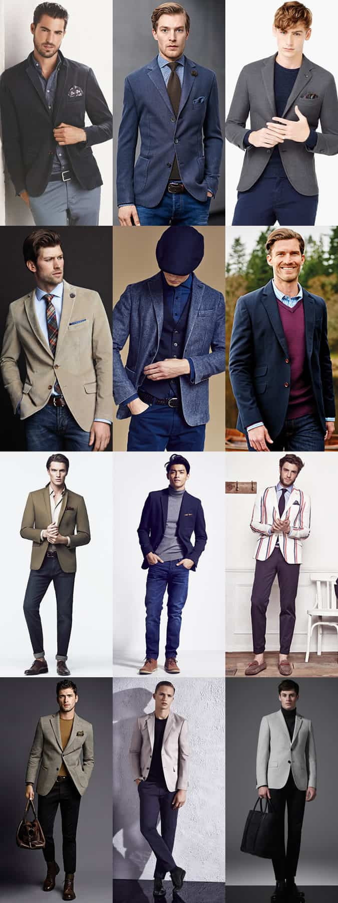 Men's Smart-Casual Outfit Inspiration - The Relaxed Blazer