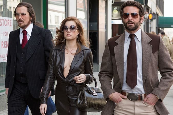 American Hustle 1970s Suits