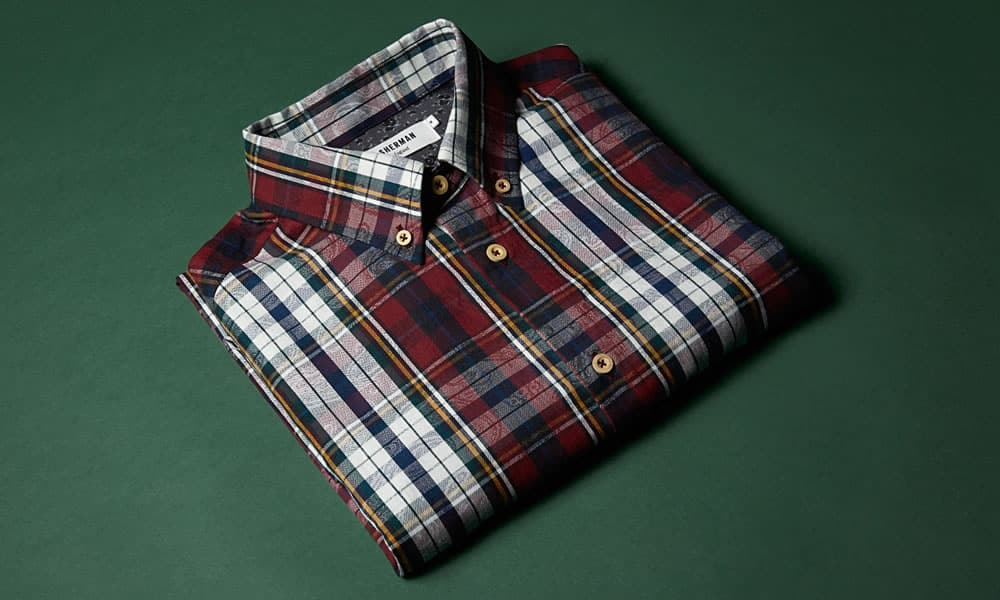 Ben Sherman Made in England Collection - Made in England Paisley Check Shirt