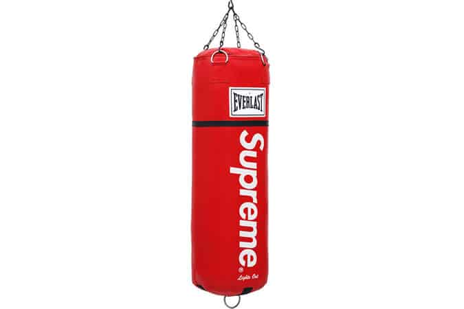 Supreme Leather Heavy Bag