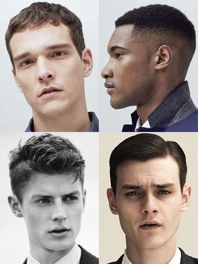 Men's hairstyles/haircuts for Square Face Shapes
