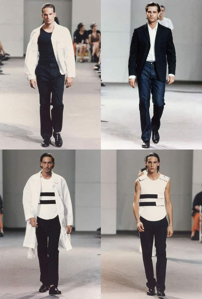 Helmut Lang SS 98 - The Best & Most Influential Menswear Shows Of All Time