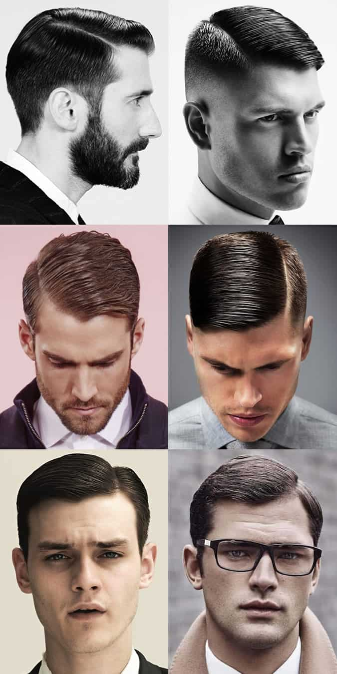 Men's Spring/Summer 2016 Hair Trends - Side Parting Hairstyles and Cuts
