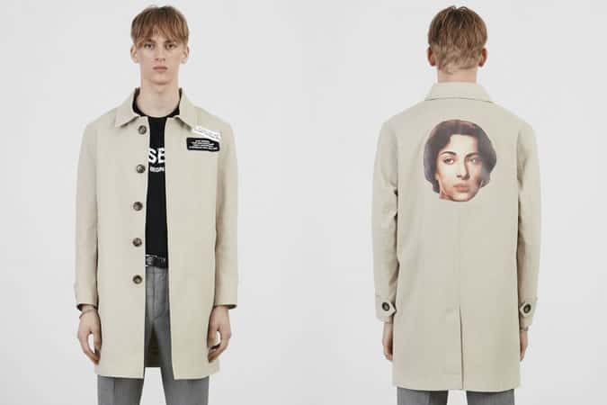 MISBHV 70s Trench Coat