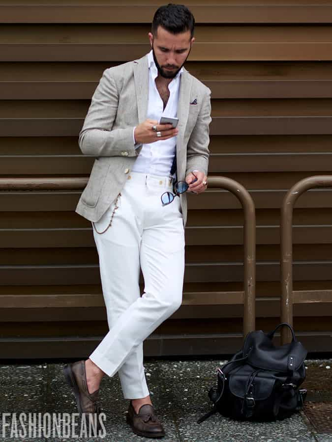 Pitti Uomo Men's Style/Fashion/Outfit