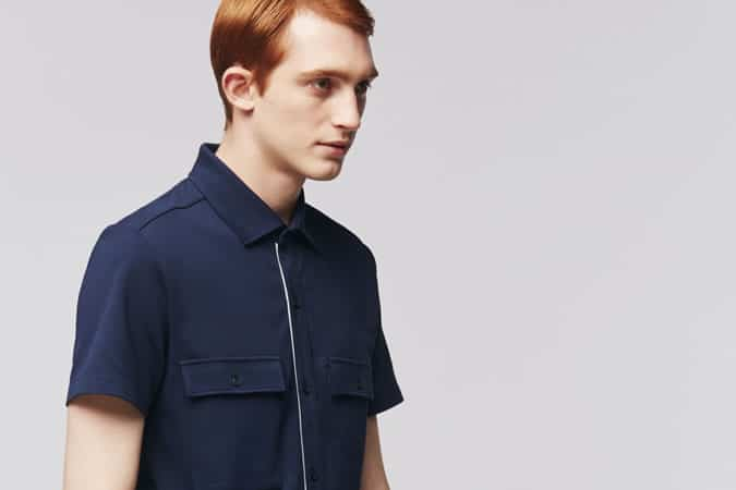 Uniqlo x Theory FULL OPEN POLO SHIRTS