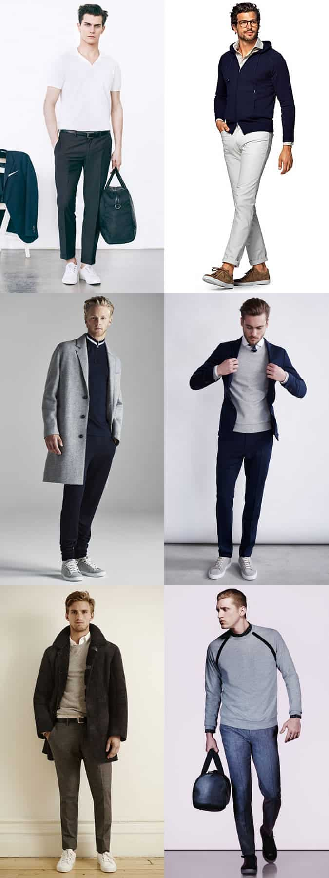Men's Luxe/Dressed Up Sportswear Outfit Inspiration Lookbook