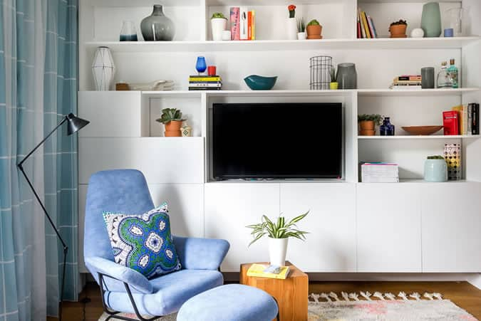 Interior Design Tips: Maximise space with fitted furniture