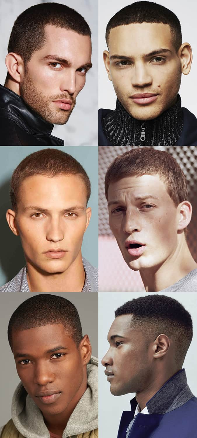 Men's Buzz Cuts/Shaved Heads Hairstyles/Haircuts