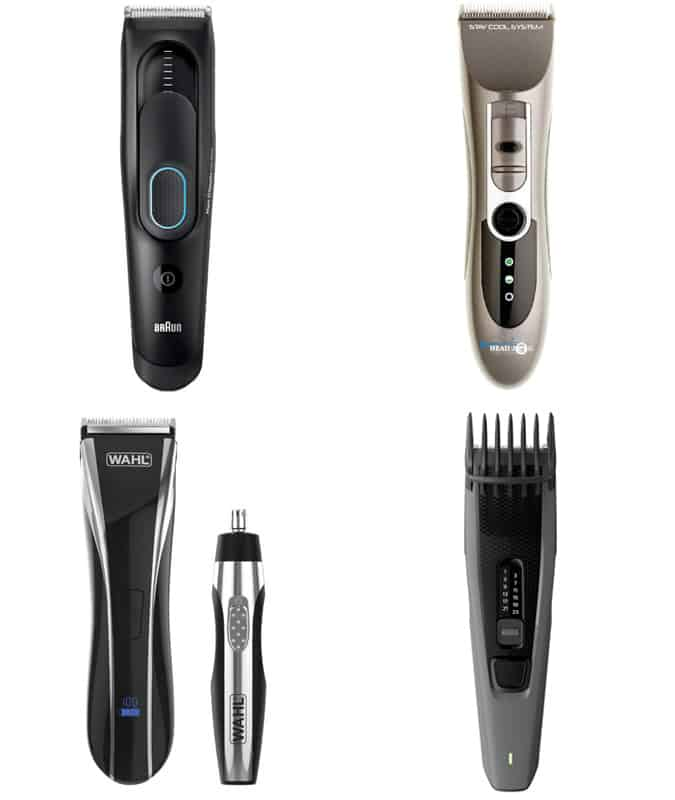 Recommended Hair Clippers and Cleaning Brushes
