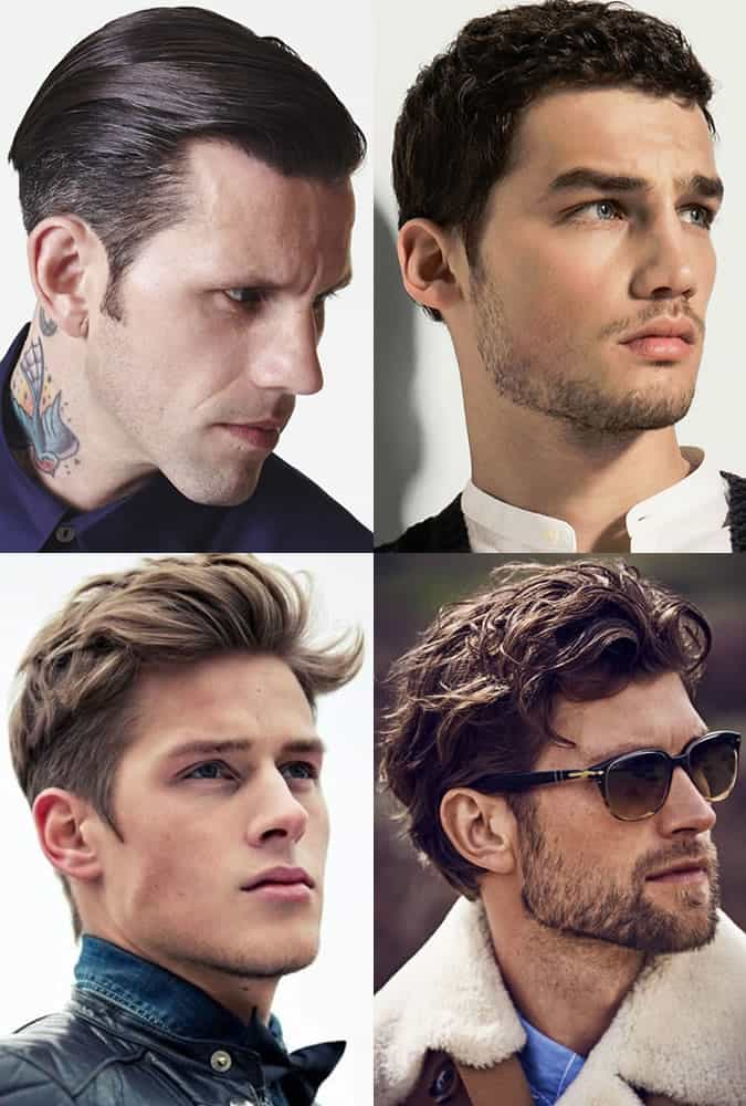 Men's natural and groomed sideburns inspiration