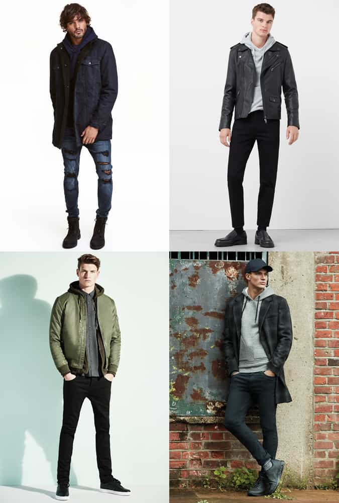 Men's Hoodies Outfit Inspiration Lookbook For Autumn/Winter