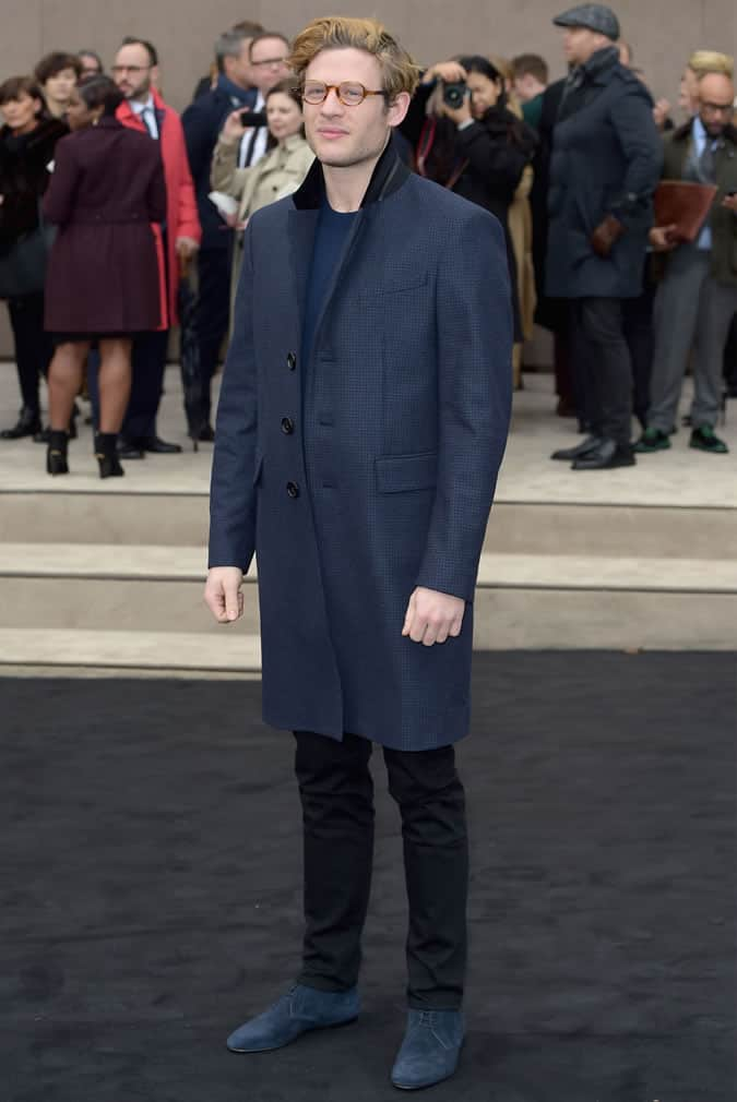 James Norton Statement Coat