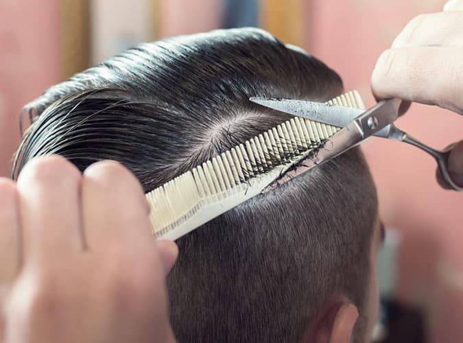 Scissor-Over-Comb