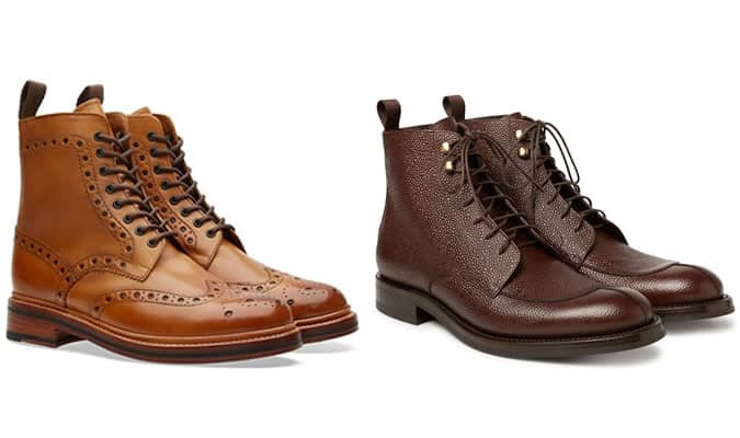 Men's Lace Up Boots