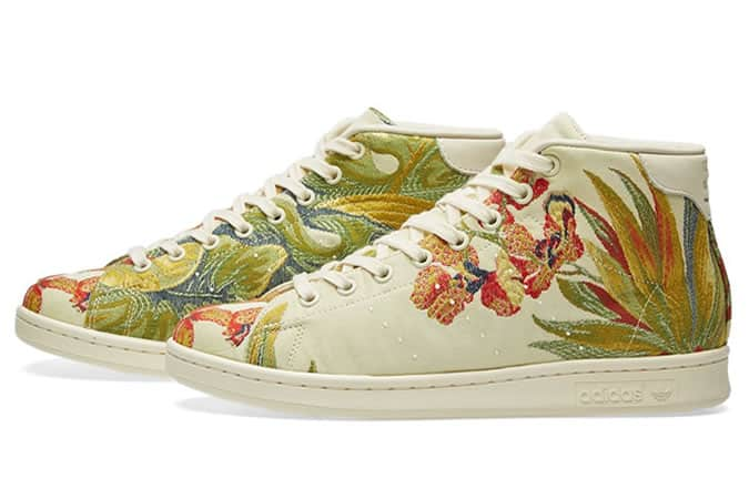 Adidas Consortium X Pharrell Williams Jacquard Stan Smith Mid