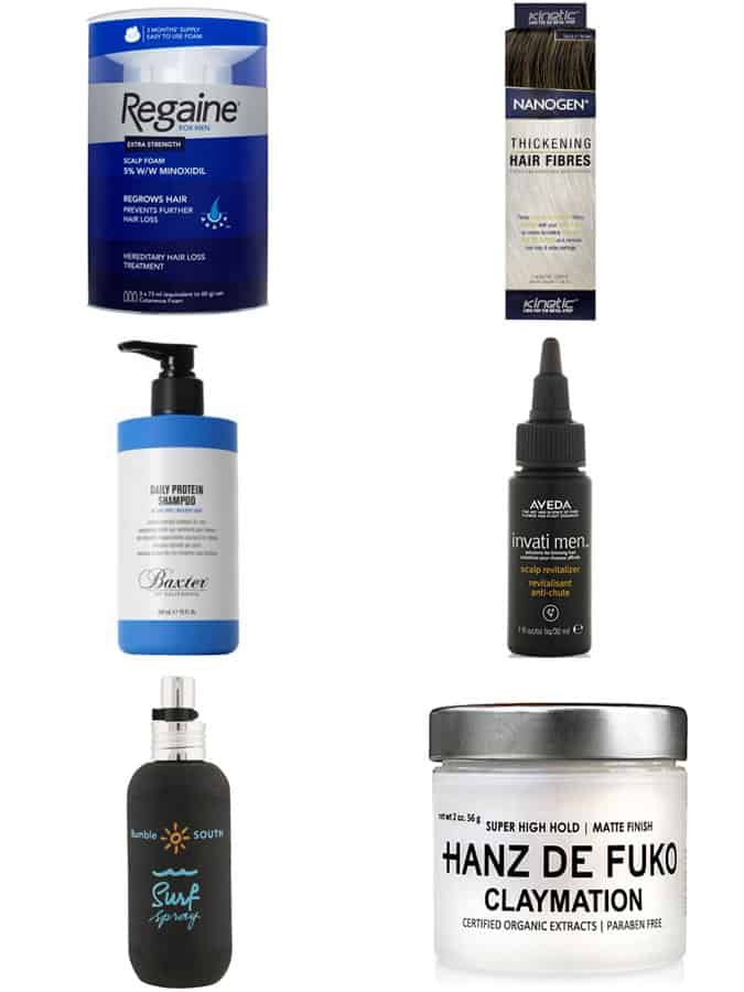 Men's Hair Loss Products