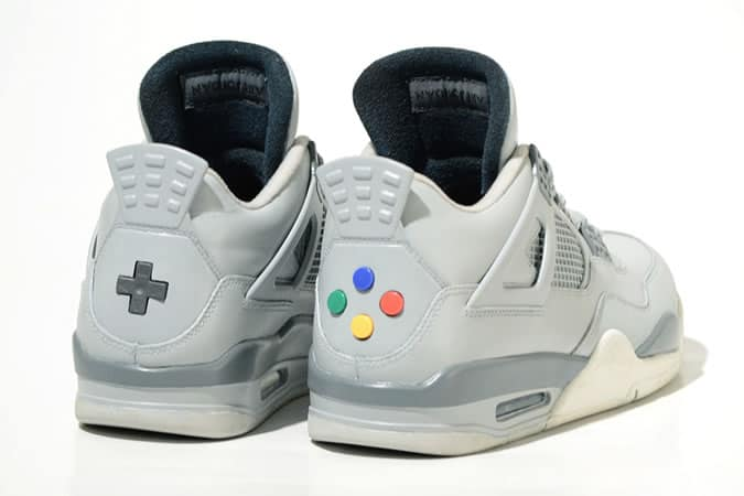 SNES Inspired Sneakers
