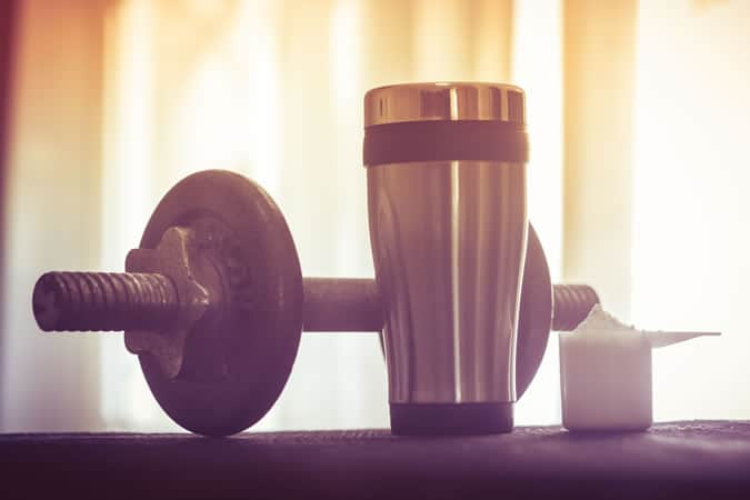 Coffee and a protein shake are all you really need