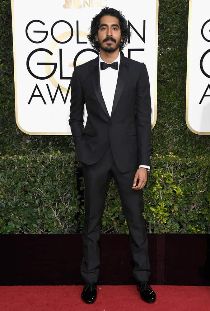 Dev Patel At The 74th Annual Golden Globes