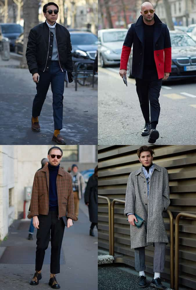 Men's AW17 Fashion Week Street Style Trends - Cropped Trousers