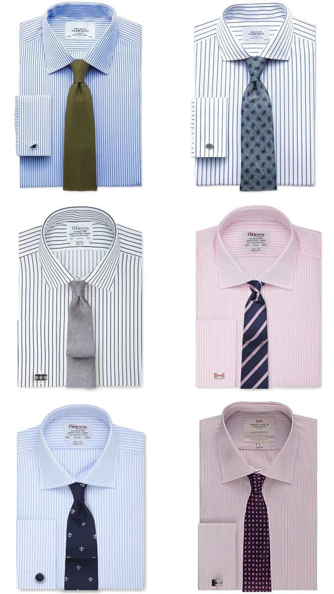 A guide to men s shirt tie combinations fashionbeans for Charcoal suit shirt tie combinations