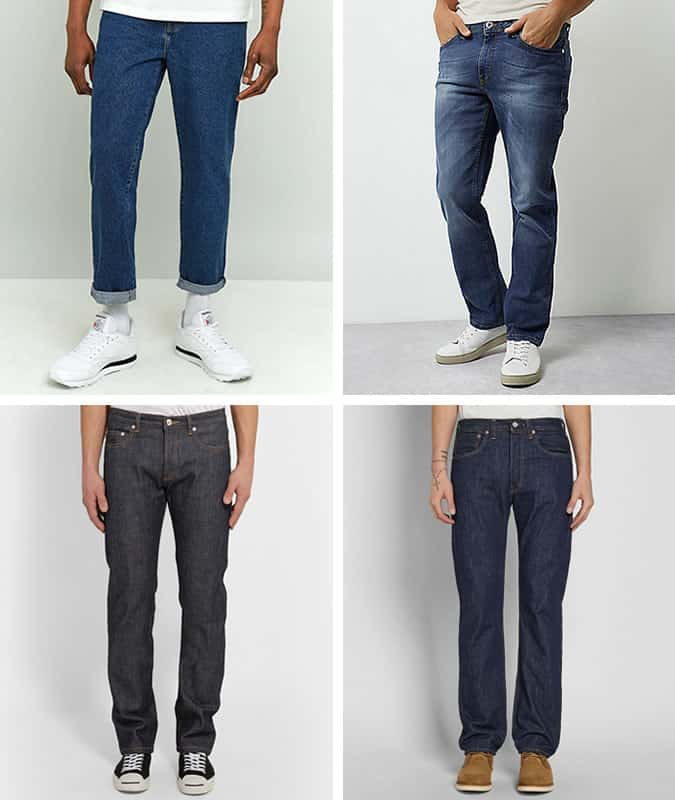 Men's Straight and Relaxed-Leg Jeans