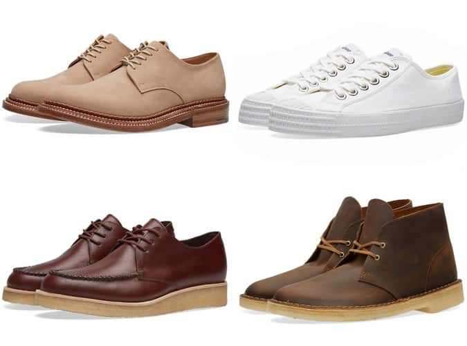 Men's Suede Shoes and Boots and Clean Trainers