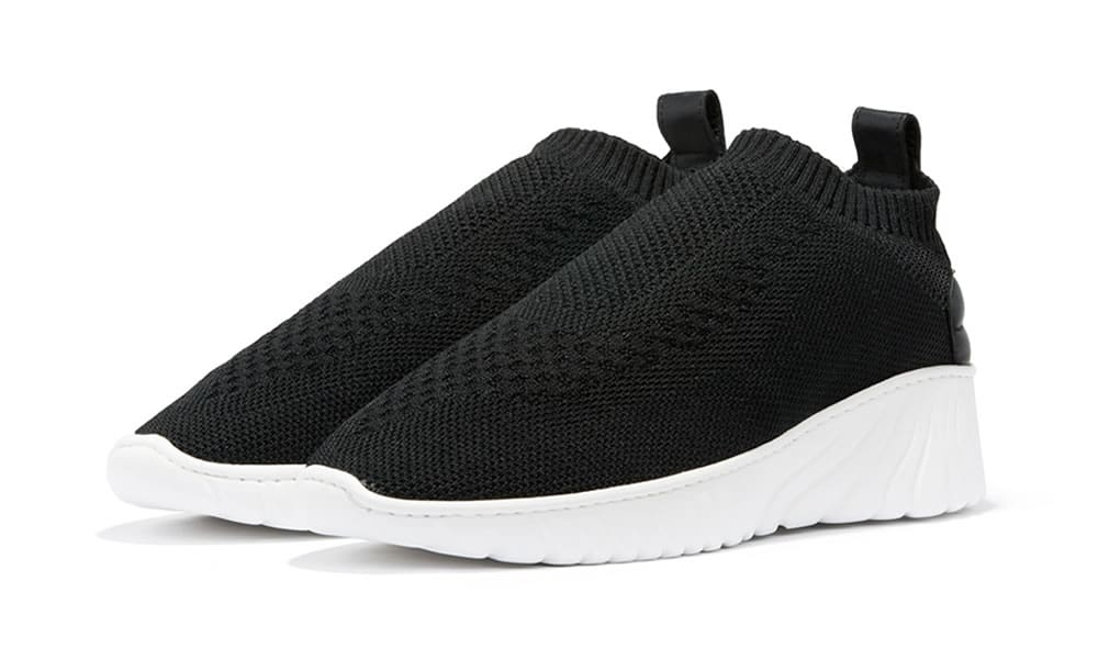 Filling Pieces Roots Runner Knits Black