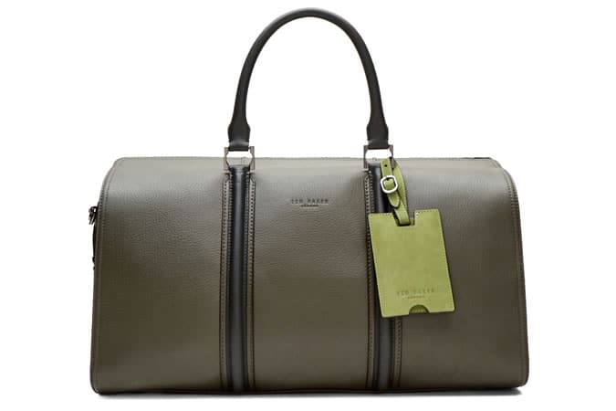 Ted Baker Basking Leather Holdall