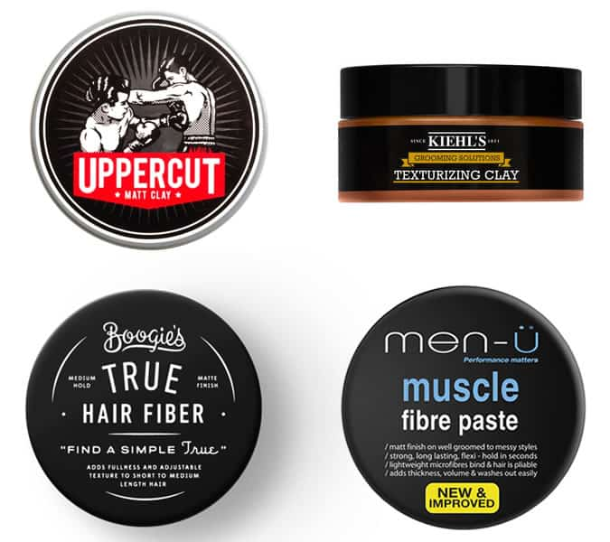 Matte Hair Styling Products for Men