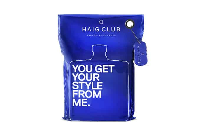 Haig Club x Selfridges Custom Whisky Bottle