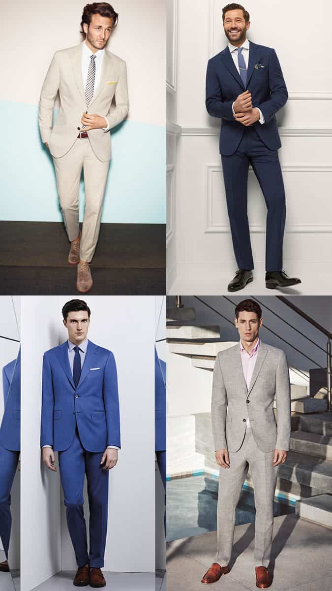 Men S Two Piece Suits Spring Summer Wedding Guest Outfit Inspiration