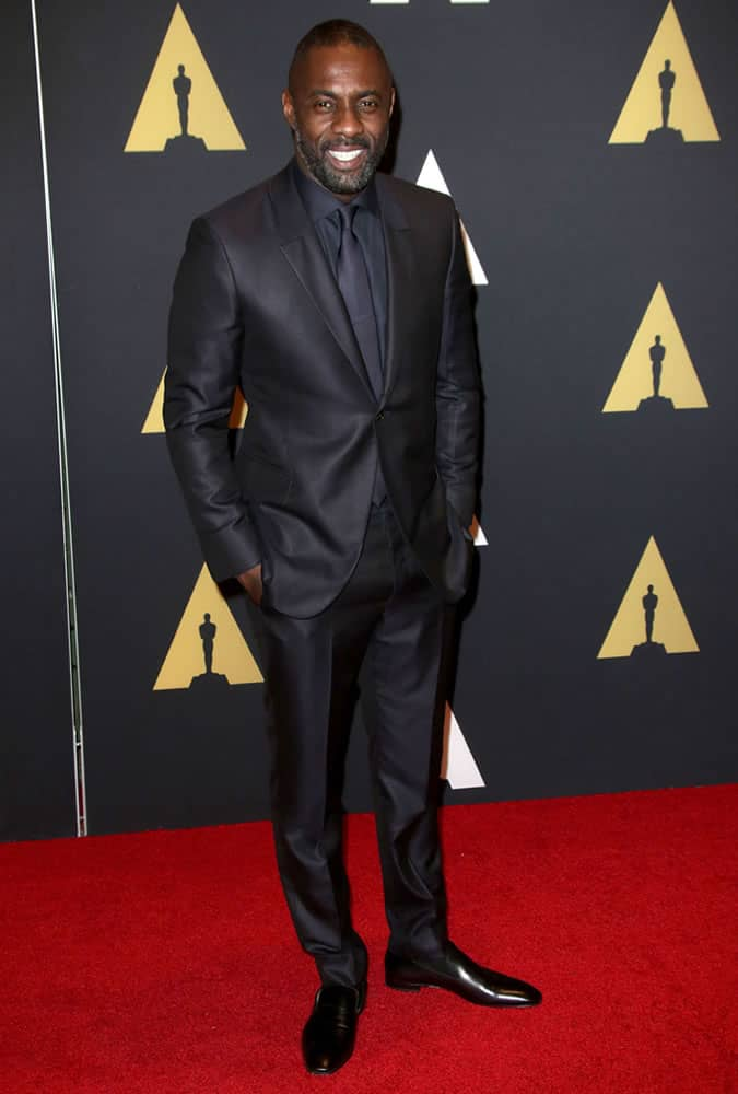 Idris Elba Oscars Red Carpet