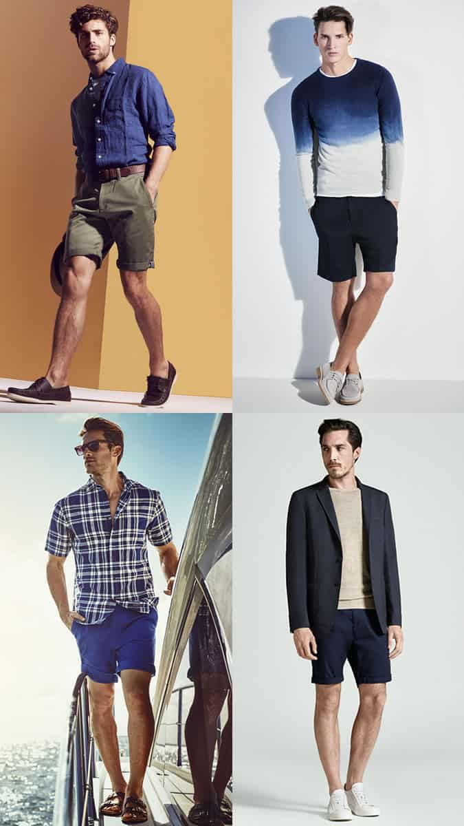 Shoes you can wear with chino shorts