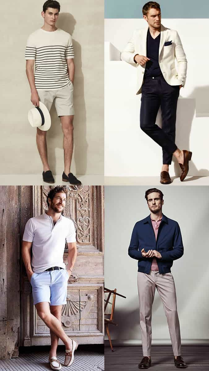 tailored shorts and chinos Riviera style