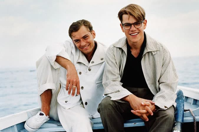 Jude Law as Dickie Greenleaf - The Talented Mr Ripley Fashion & Style