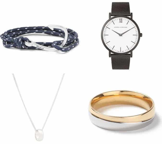 men's accessories to wear on a first date