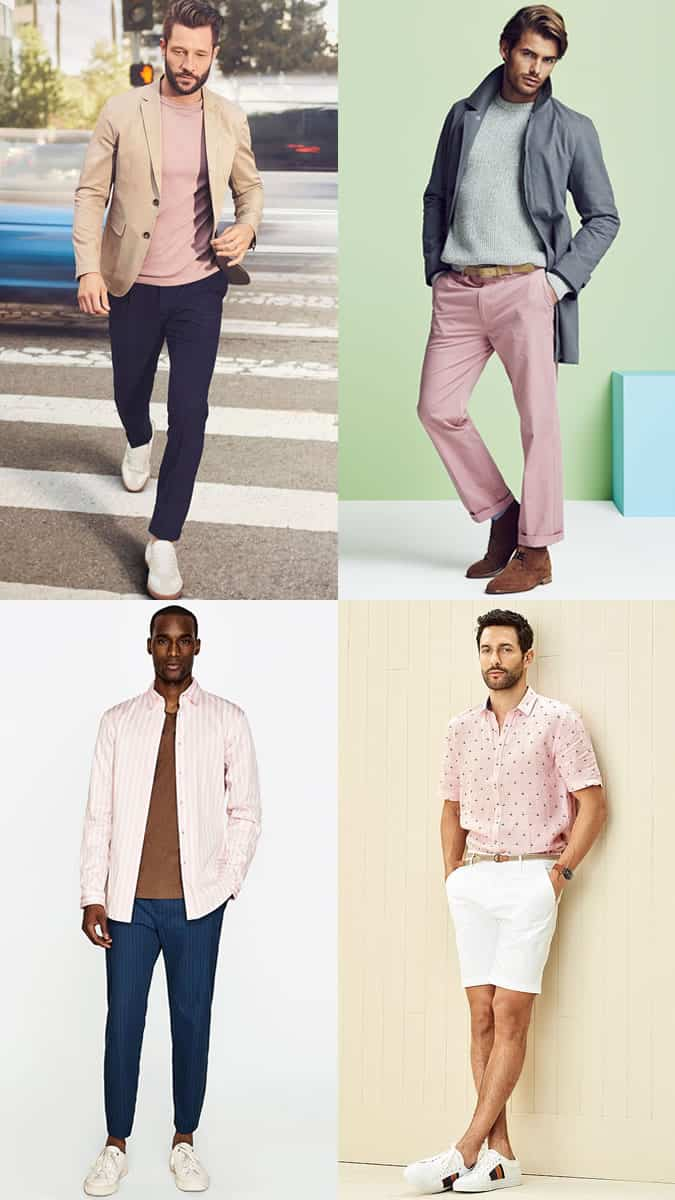 The best colours to wear with pink