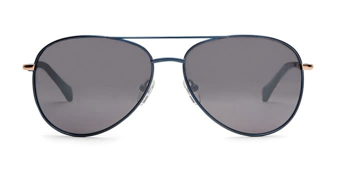 NOVER Metallic pilot sunglasses