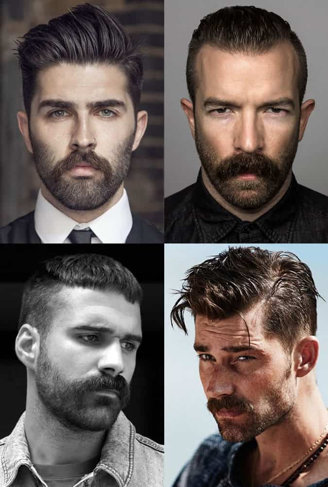 The best men's beardstache styles