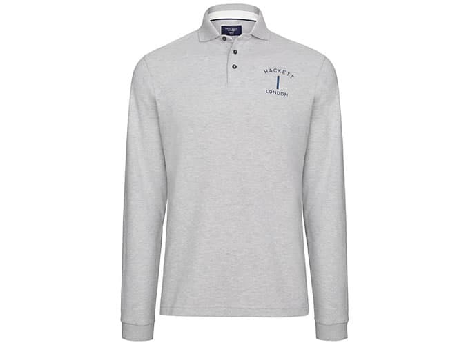 Hackett London Mr Classic Long Sleeve Polo