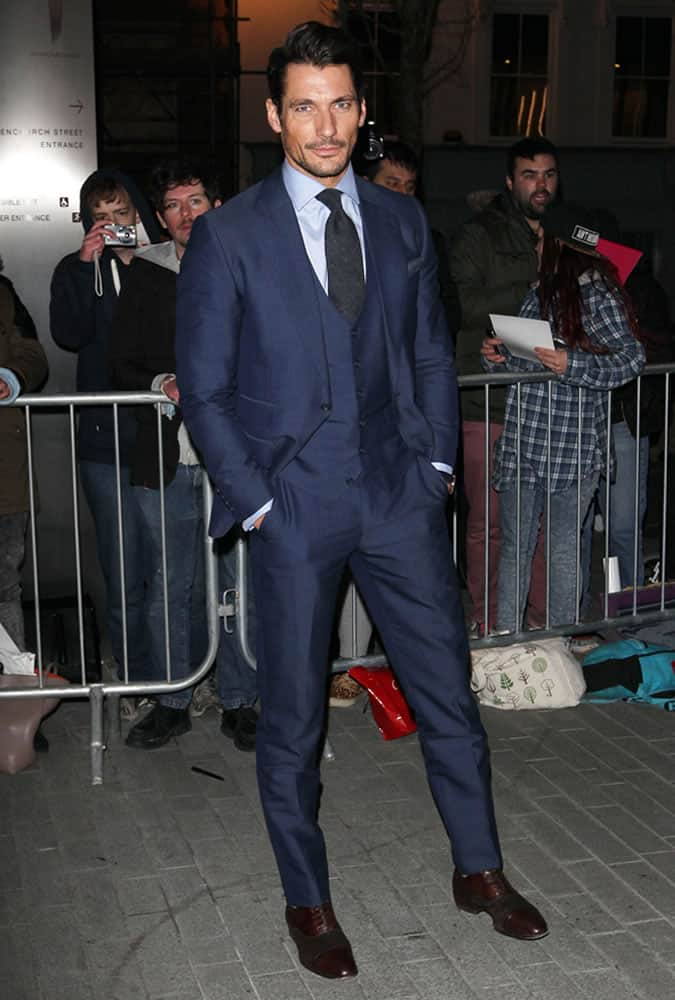 David Gandy Failsafe Suit